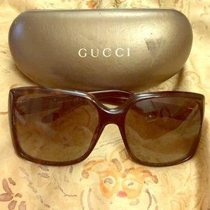 Gucci Authentic Havana Sunglasses GG 3589/s
