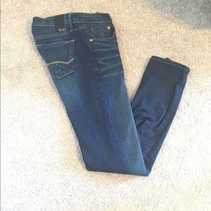 Cult of Individuality Denim - Cult jeans, Zen slim curvy, dark wash, size 26.