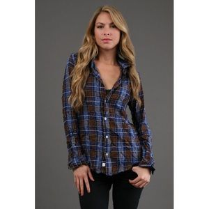 Frank & Eileen Tops - [Frank & Eileen]barry multi colored plaid shirt