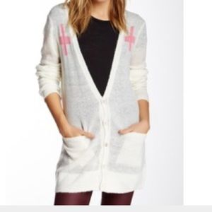 Wildfox White Label long cardigan