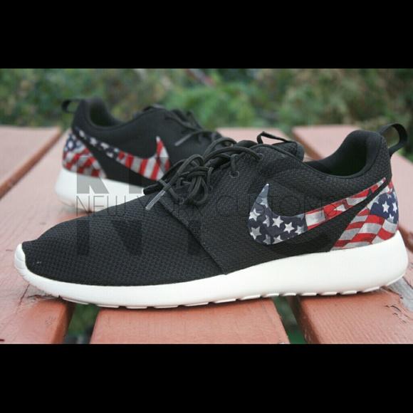 nike roshe shoes american flag