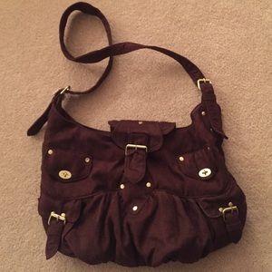 Lulu Handbags - Lulu crossbody brown bag