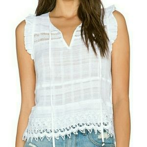 Gypsy 05 Tops - NWOT Gypsy 05 white cotton top