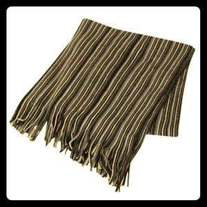 Other - *Discounted* Unisex Stripes Warm Scarf w/ Fringes