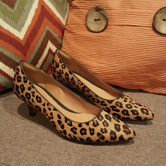 e3ba4f87af62 Clarks Shoes - Clarks Artisan Ponyhair Kitten Heels