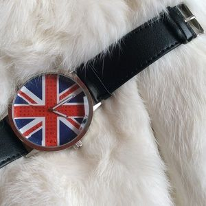Hot Topic Accessories - British Flag Watch