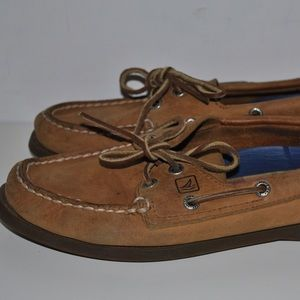 Sperry Top-Sider Shoes - Sperry Tan Loafers
