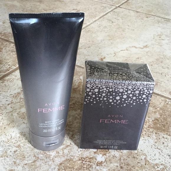 Avon Other Femme Perfume And Body Lotion Set Poshmark
