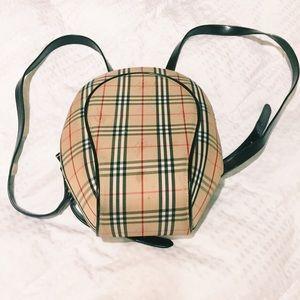 Handbags - Plaid Mini Backpack
