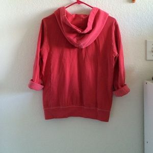 American Eagle Outfitters Tops - Red American eagle fleece hoodie