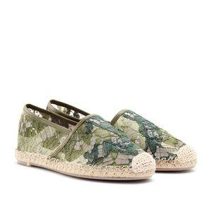Valentino Shoes - Valentino camo espadrilles size 9 authentic