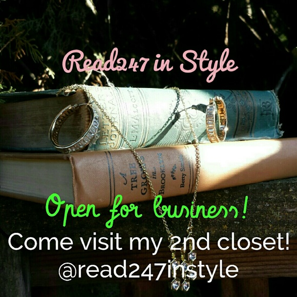 Read247 in Style  Accessories - 📚 Come visit my 2nd closet @read247instyle! 📚