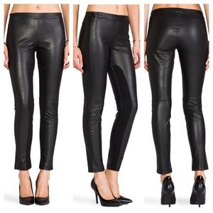 SANCTUARY FAUX LEATHER LEGGING S