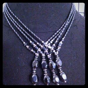 Jewelry - Hematite w/ Pendant.