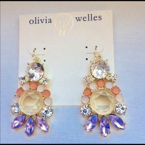 New Olivia Welles pierced earrings
