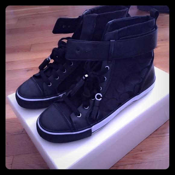 Coach Shoes | Womens Black Coach A36