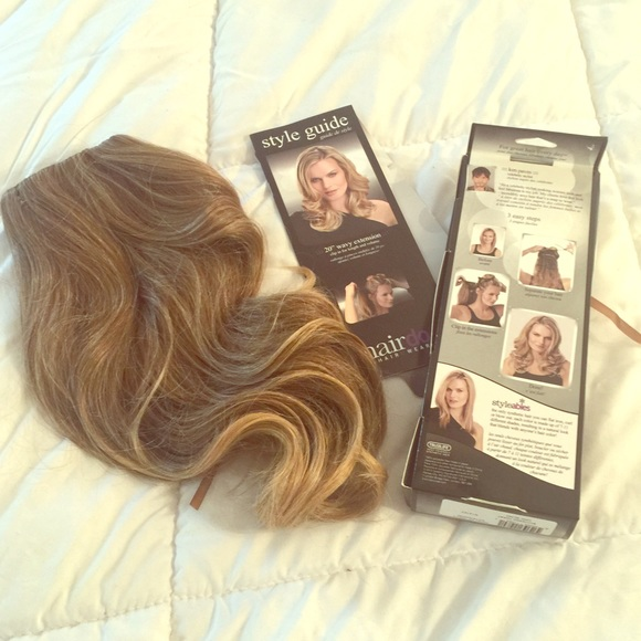 Hairdo Accessories Ken Paves Clip In Hair Extensions Brand New
