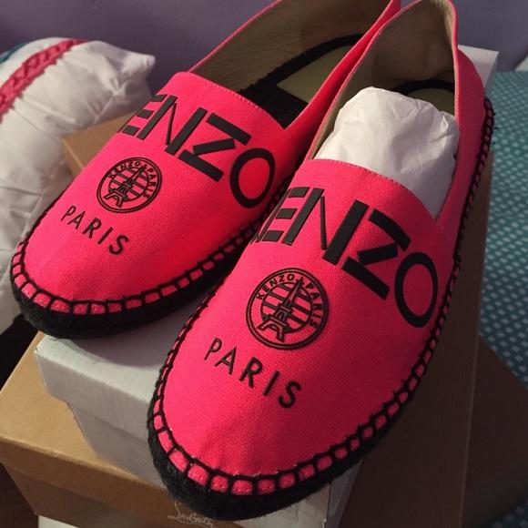 Kenzo Shoes | Kenzo Pink Flats | Poshmark