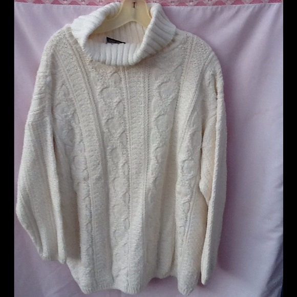 75% off Absolutely cotton Sweaters - Off white cotton sweater ...