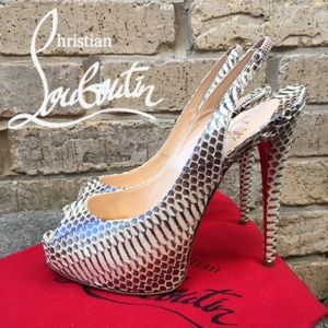 Christian Louboutin Shoes - 💯✔️ Christian Louboutin Cobra Very Prive 120mm 37