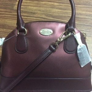 SALE NWT COACH Cora Domed Satchel, mini