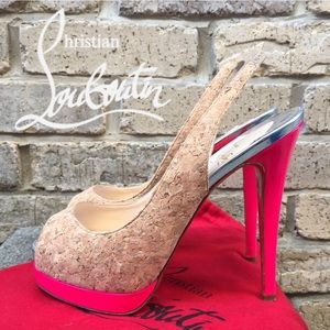 Christian Louboutin Shoes - 💯✔️Christian Louboutin Catenita Sling Backs 37