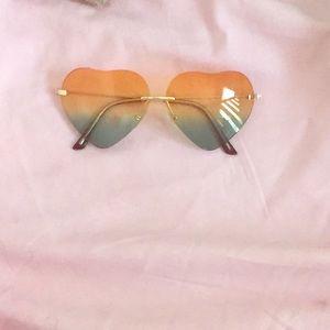 1a46fc818ec0c Gucci Accessories - Heart-Shaped Sunglasses 😍😎