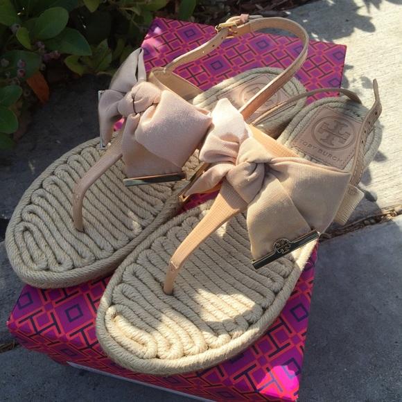 780e47aafdd Tory Burch Penny flat thong sandal. M 5604389a5a49d074fb00190a