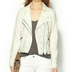 Piperlime Jackets & Blazers - Piperlime Lace Moto jacket