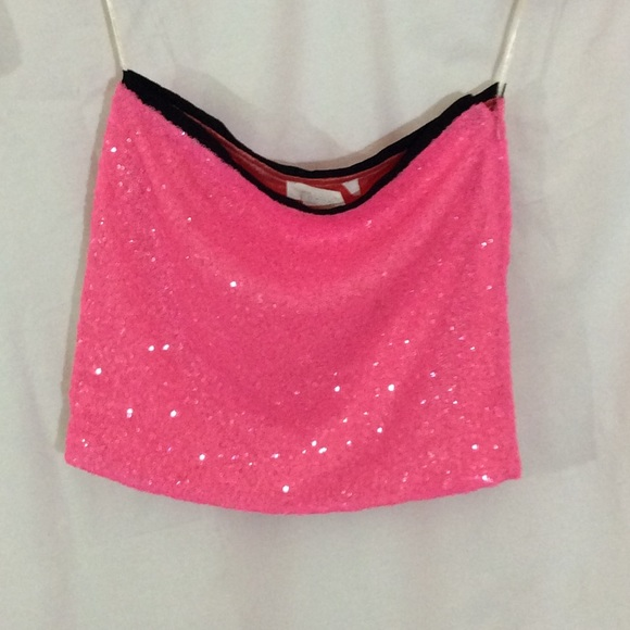 Miss Me - MM Couture pink sequin mini skirt from Meghan's closet ...