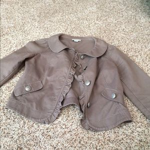 Brown fall jacket from loft!