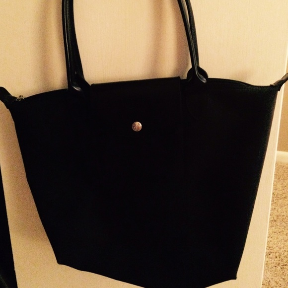 58% off Longchamp Handbags - Long champ all black small tote from ...