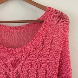 Isabel Lu Sweaters - Isabel Lu | Coral Asymmetrical Sweater