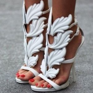 Shoes - Giuseppe Inspired Wing Heel