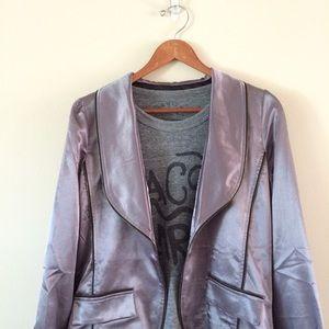 Isabel Lu Jackets & Blazers - Isabel Lu | Metallic Blazer