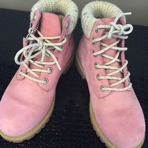 Timberland Shoes - Timberland Boots in Baby Pink