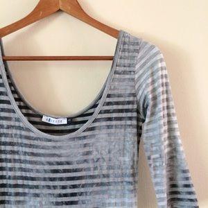 LF | Bluette Stripe Top