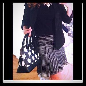 Zara Poka-dot skirt
