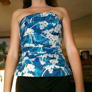 Strapless corset top