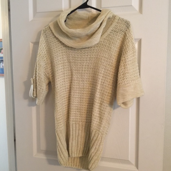 86% off Sweaters - Cream colored Cowl Neck Sweater from Heather's ...