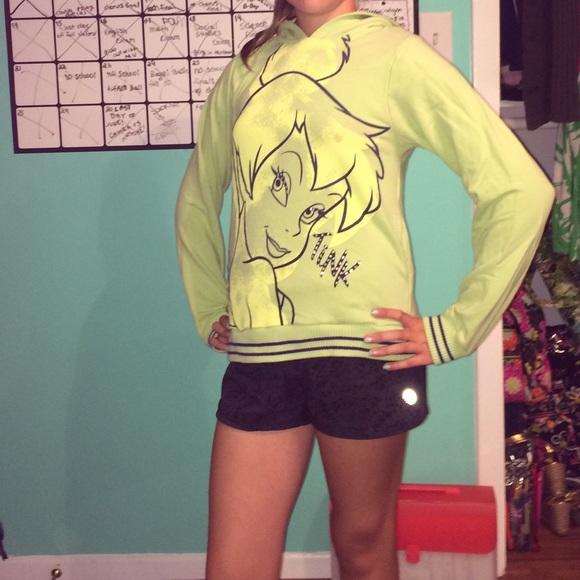 Walt Disney World Sweaters Tinkerbell Sweatshirt For Girls Poshmark