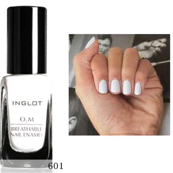 Inglot Makeup | Breathable H20 Nail Enamel 601 White | Poshmark