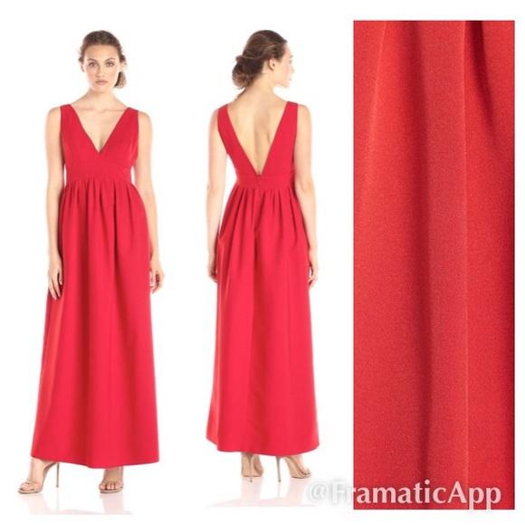 117f07f3be8 NEW NWT JILL STUART RED MAXI DRESS SIZE 8 PARTY