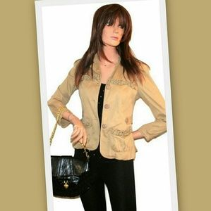 Marc by Marc Jacobs tan jacket