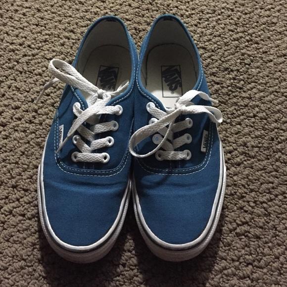 ️Authentic blue coral vans‼ cd595904c7
