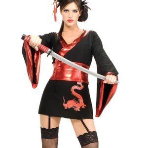 Sexy Samurai Costume