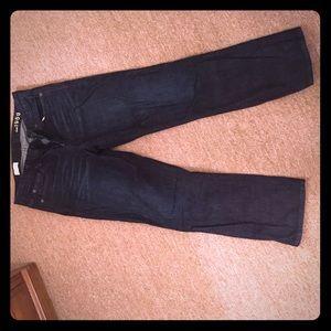 High rise crop GAP jeans