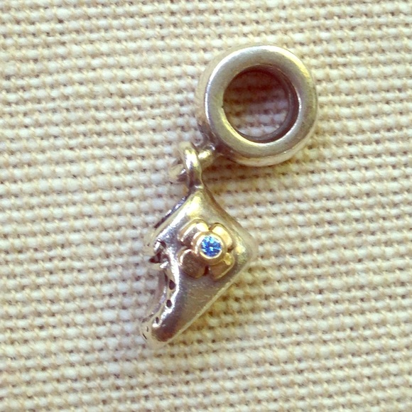 Pandora Jewelry Boy Baby Bootie Charm Poshmark