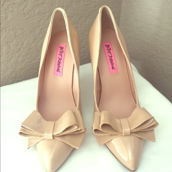 Flat Patent Shoes Nude