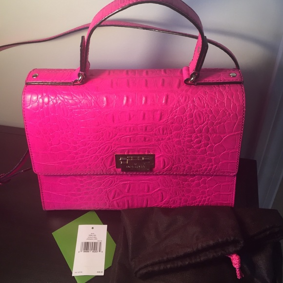 Kate Spade Pink Crossbody Lovely Almost New Kate Purse Dust